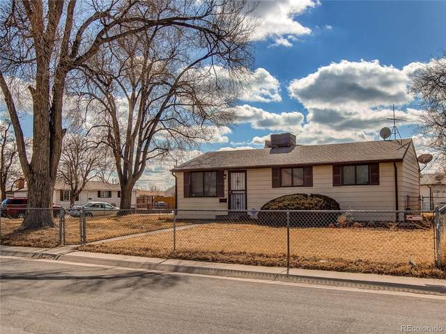 5700 E 78th Place, Commerce City, CO 80022 (#3856369) :: The DeGrood Team