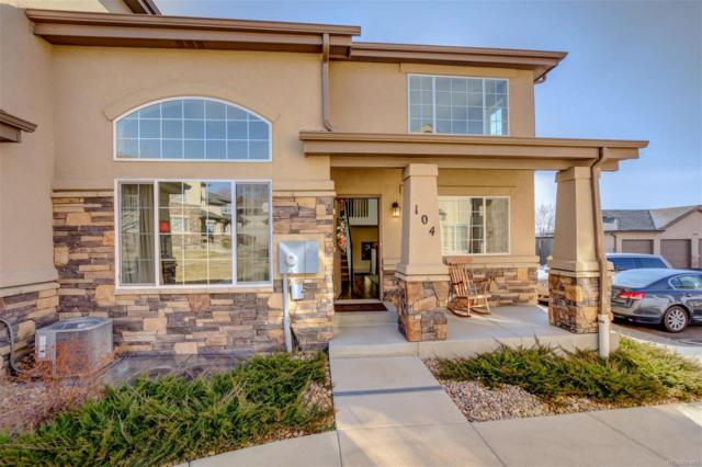 1365 S Chambers Road #104, Aurora, CO 80017 (#3857321) :: The Heyl Group at Keller Williams