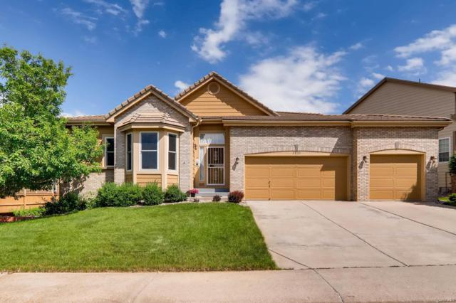 2839 Clairton Drive, Highlands Ranch, CO 80126 (#3858805) :: The City and Mountains Group