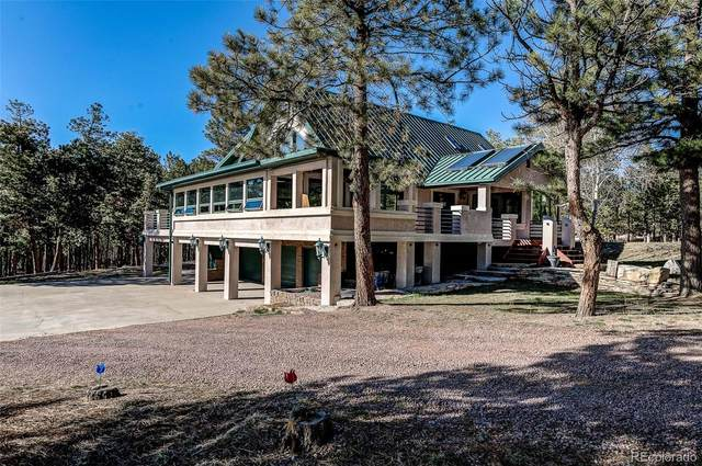 11650 Columbine Hills Road, Colorado Springs, CO 80908 (MLS #3860707) :: Kittle Real Estate