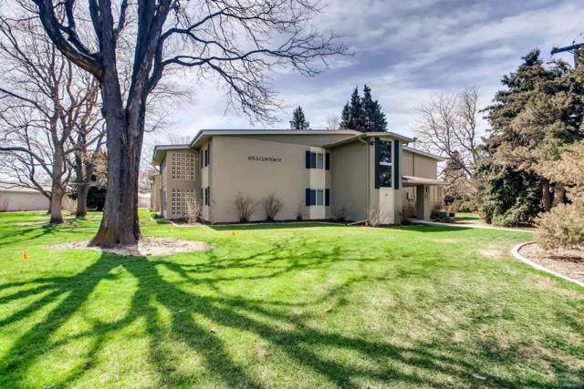 615 S Clinton Street 7B, Denver, CO 80247 (#3865593) :: Bring Home Denver with Keller Williams Downtown Realty LLC
