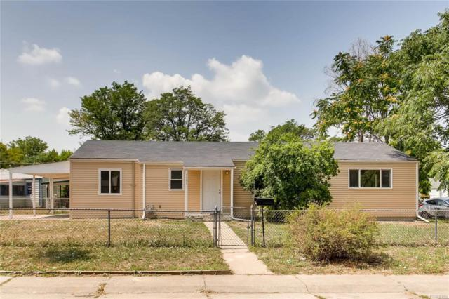 1151 Hillside Street, Aurora, CO 80010 (#3873656) :: Briggs American Properties