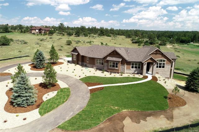 7484 Lost Lake Drive, Franktown, CO 80116 (#3874349) :: Colorado Home Realty