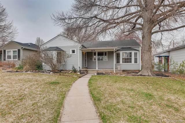 1670 S Columbine Street, Denver, CO 80210 (#3876321) :: Re/Max Structure