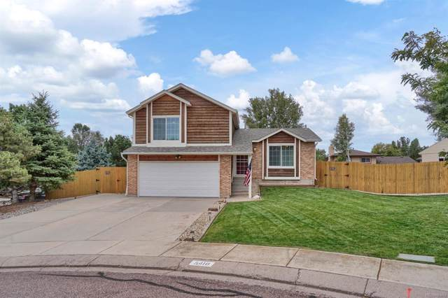 5418 Pinon Valley Road, Colorado Springs, CO 80919 (MLS #3880010) :: Kittle Real Estate