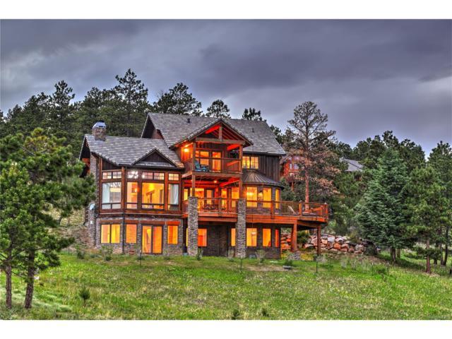 14974 Wetterhorn Peak Trail, Pine, CO 80470 (MLS #3880015) :: 8z Real Estate