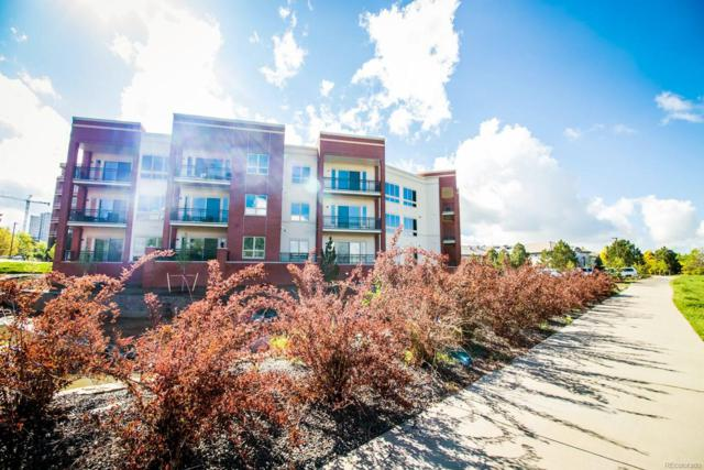 4885 S Monaco Street #308, Denver, CO 80237 (#3881385) :: The DeGrood Team