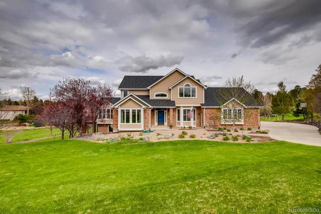 5728 Wild Berry Court, Parker, CO 80134 (#3881678) :: The DeGrood Team