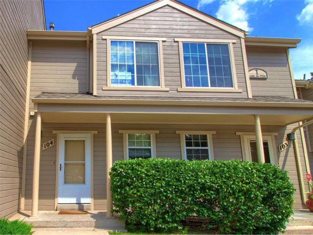 11133 W 17th Avenue #104, Lakewood, CO 80215 (MLS #3883427) :: 8z Real Estate