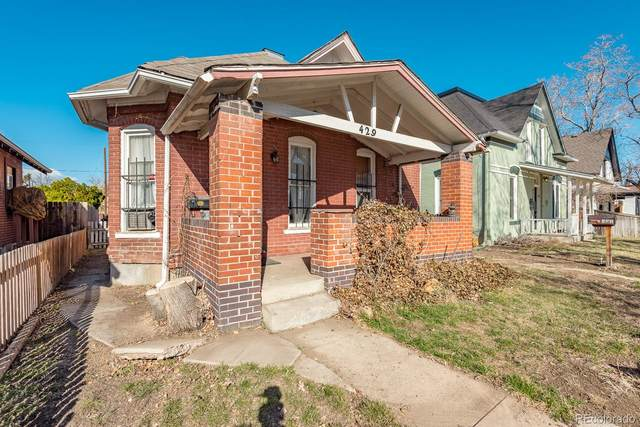 429 Bannock Street, Denver, CO 80204 (#3886545) :: HomeSmart