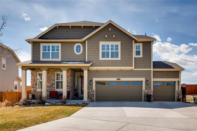 2430 E 160th Place, Thornton, CO 80602 (#3890674) :: The Griffith Home Team