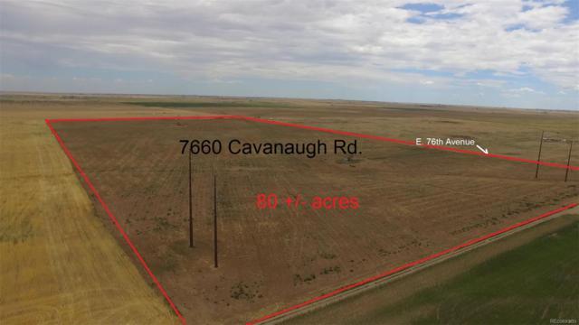 7660 Cavanaugh Road, Commerce City, CO 80022 (MLS #3892695) :: 8z Real Estate