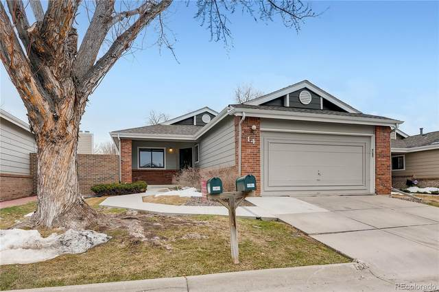 8040 E Dartmouth Avenue #14, Denver, CO 80231 (#3893564) :: Finch & Gable Real Estate Co.