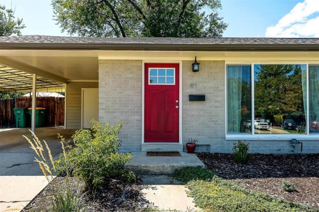 41 Benton Street, Lakewood, CO 80226 (#3897700) :: Wisdom Real Estate