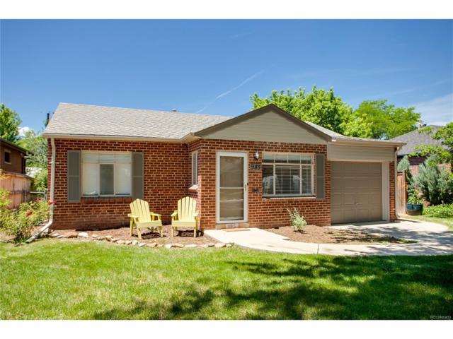 985 Forest Street, Denver, CO 80220 (#3903552) :: The Peak Properties Group