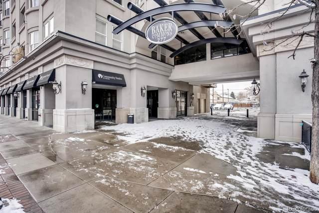 277 Broadway #308, Denver, CO 80203 (MLS #3909263) :: 8z Real Estate