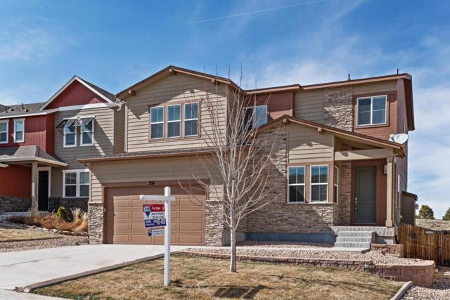 3311 Ghost Dance Drive, Castle Rock, CO 80108 (#3911649) :: Compass Colorado Realty