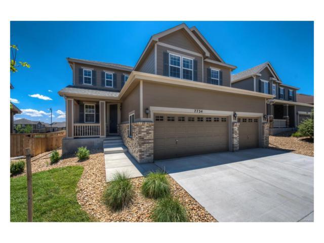 7734 Blue Water Drive, Castle Rock, CO 80108 (MLS #3913787) :: 8z Real Estate