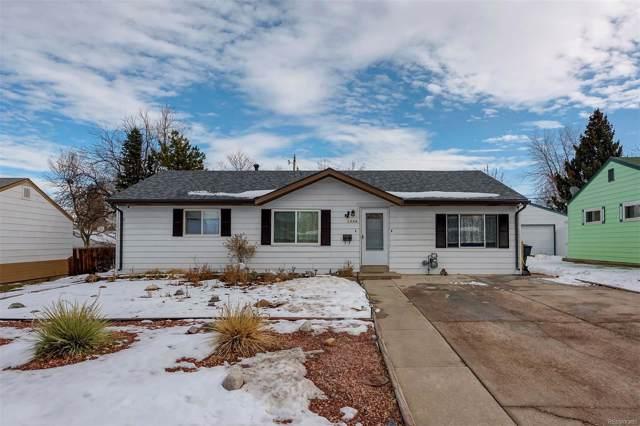 1886 S Meade Street, Denver, CO 80219 (#3915603) :: The Peak Properties Group