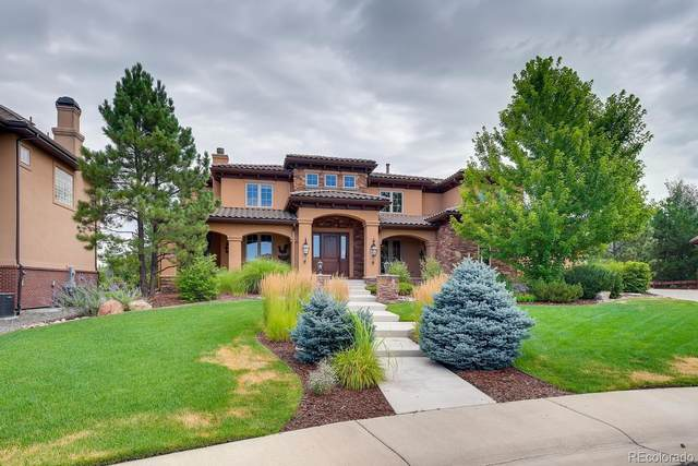 9644 Silent Hills Lane, Lone Tree, CO 80124 (#3915613) :: HomeSmart Realty Group
