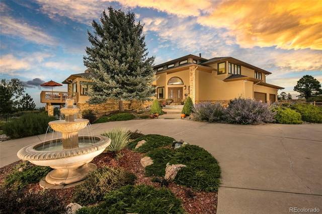 5880 Angie Court, Parker, CO 80134 (#3919508) :: The HomeSmiths Team - Keller Williams