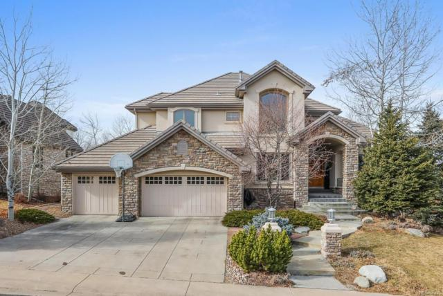 9322 E Star Hill Trail, Lone Tree, CO 80124 (#3921922) :: The Peak Properties Group