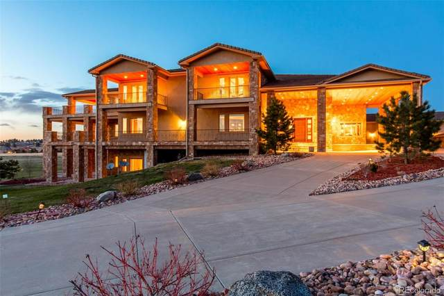 7375 Sagebrush Drive, Parker, CO 80138 (#3924315) :: The DeGrood Team
