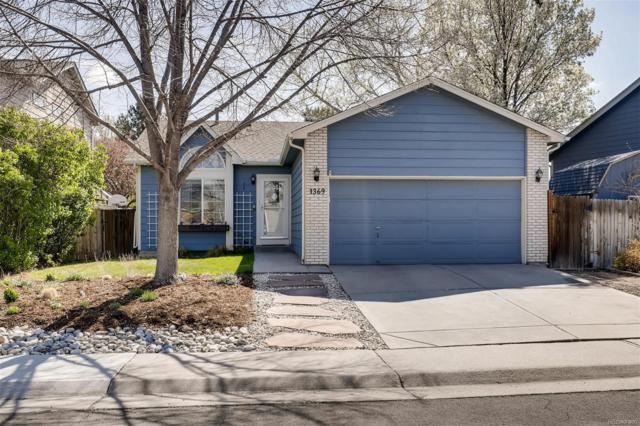 1369 W 133rd Way, Westminster, CO 80234 (#3925314) :: House Hunters Colorado