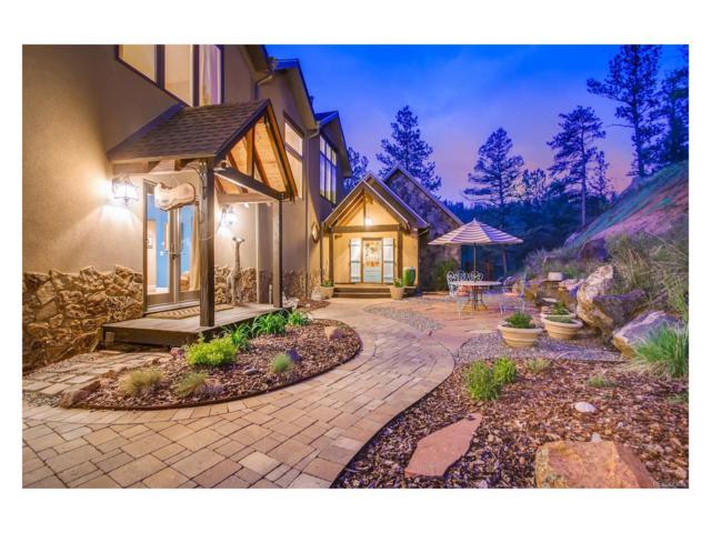 15541 S Elk Creek Road, Pine, CO 80470 (MLS #3925378) :: 8z Real Estate