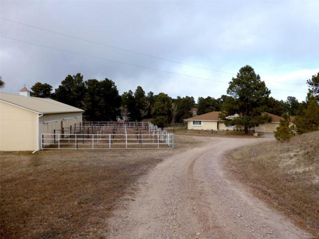 1553 County Road 150, Elizabeth, CO 80107 (#3930450) :: Colorado Home Realty