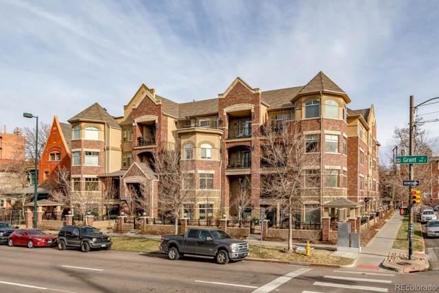 1100 N Grant Street #103, Denver, CO 80203 (#3932745) :: The DeGrood Team