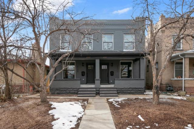 2309 N Vine Street, Denver, CO 80205 (MLS #3932998) :: Kittle Real Estate