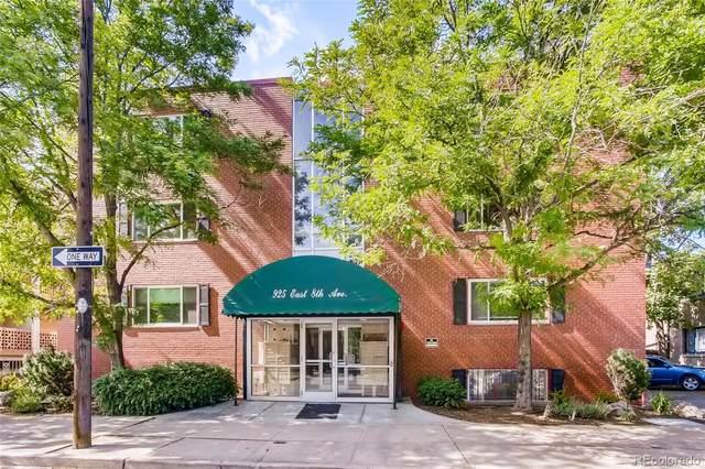 925 E 8th Avenue #115, Denver, CO 80218 (#3935004) :: Finch & Gable Real Estate Co.