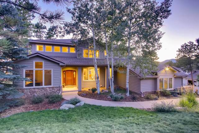 1366 Gold Mine Lane, Evergreen, CO 80439 (#3935392) :: The Heyl Group at Keller Williams