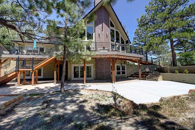 8987 Village Pines Circle, Franktown, CO 80116 (#3935662) :: The DeGrood Team