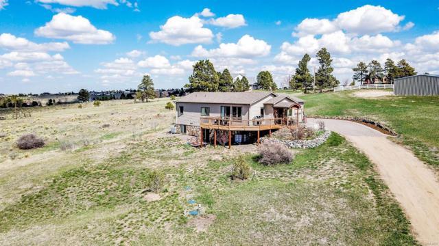8408 Vinegarroon Road, Parker, CO 80138 (#3936574) :: Colorado Team Real Estate
