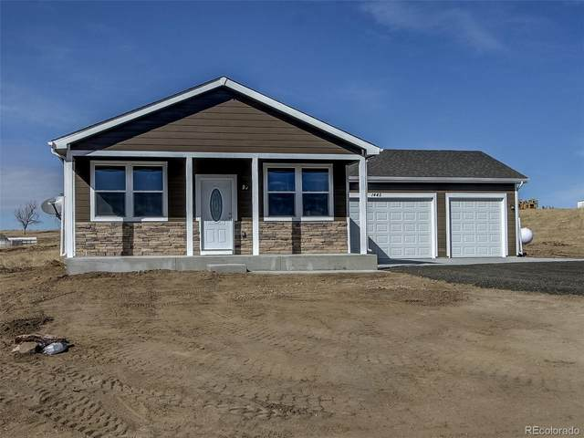 496 S 3rd Avenue, Deer Trail, CO 80105 (#3937093) :: The Brokerage Group