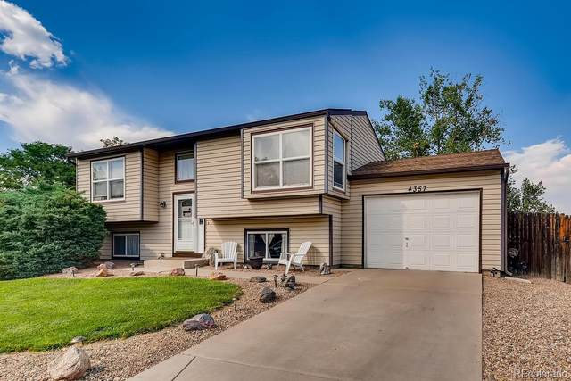 4357 E 118th Place, Thornton, CO 80233 (MLS #3940631) :: Kittle Real Estate