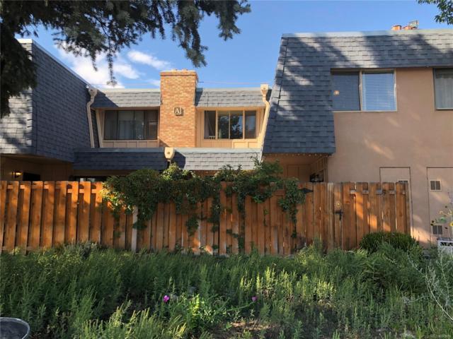 7995 E Mississippi Avenue A13, Denver, CO 80247 (#3940728) :: The Heyl Group at Keller Williams
