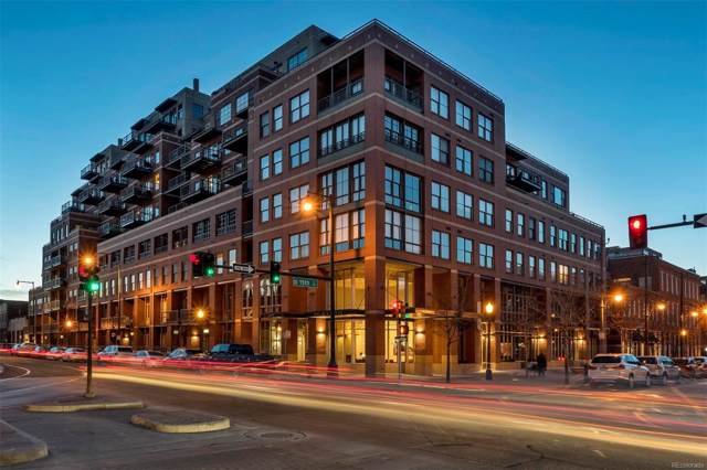 1499 Blake Street 6N, Denver, CO 80202 (#3942292) :: House Hunters Colorado