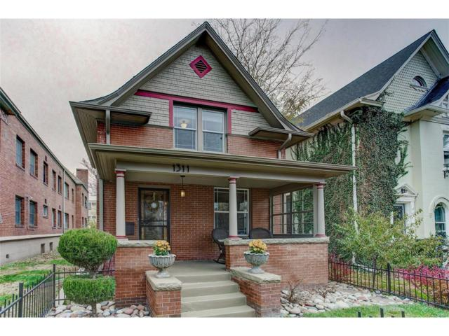 1311 Detroit Street, Denver, CO 80206 (#3946077) :: Wisdom Real Estate