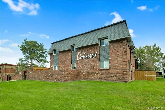 7050 W Cedar Avenue #104, Lakewood, CO 80226 (#3946308) :: The Griffith Home Team