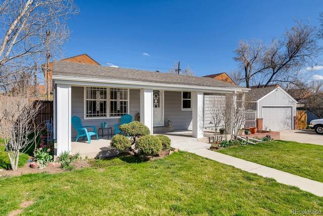 1510 S Knox Court, Denver, CO 80219 (#3946557) :: The Brokerage Group
