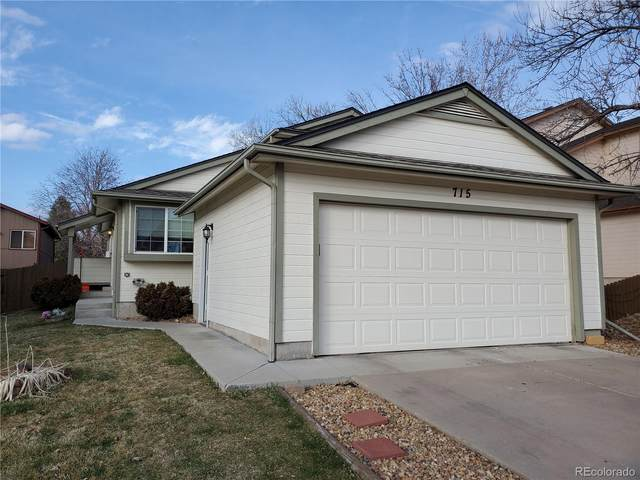 715 Stowe Street, Highlands Ranch, CO 80126 (#3946794) :: The Griffith Home Team