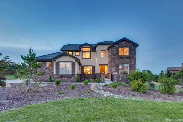 4675 Bandera Place, Parker, CO 80134 (#3946897) :: The Margolis Team