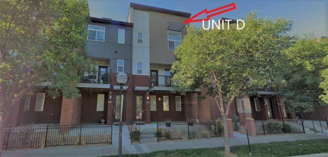 5630 W 38th Avenue D, Wheat Ridge, CO 80212 (#3949206) :: The Peak Properties Group