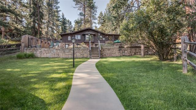 4759 Blue Spruce Road, Evergreen, CO 80439 (#3951042) :: The City and Mountains Group