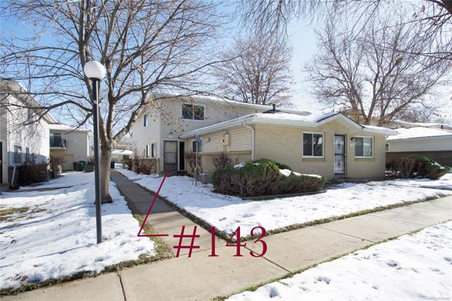 9195 E Lehigh Avenue #143, Denver, CO 80237 (#3951471) :: Colorado Home Finder Realty