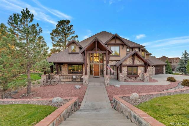5119 Serene View Way, Parker, CO 80134 (#3964842) :: Chateaux Realty Group