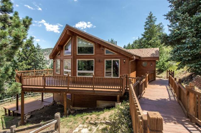 1033 Elk Valley Drive, Evergreen, CO 80439 (#3965347) :: Colorado Home Finder Realty